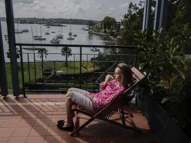 Margaret Osborne at her Rozelle home.