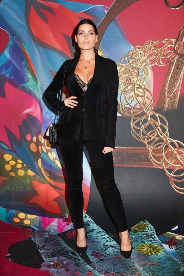 Tahnee Atkinson wearing Salvatore Ferragamo at the MAAS Ball.