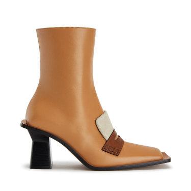 "Loewe ""80 Desert"" square boots."