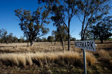 The proposed site for the coal mine near the town of Breeza on the Liverpool Plains. The mining plans have now been dropped after a 13-year battle.
