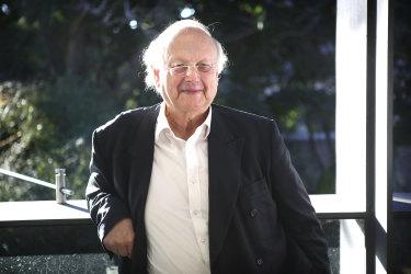 Glenn Murcutt at his home in in Sydney.