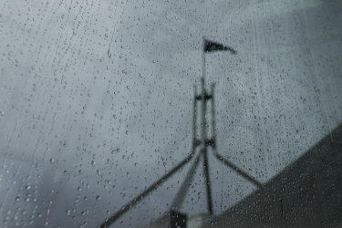 Up to 25 millimeters of rain is expected to fall in Canberra on Wednesday.