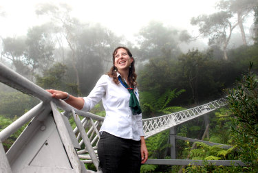 """Anthea Hammon, pictured in 2006, says she and brother David have """"amazing memories"""" of Scenic World."""