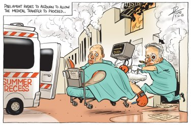 The Canberra Times' editorial cartoon for Friday, December 7.