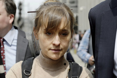 Allison Mack was involved in the cult-like group NXIVM.