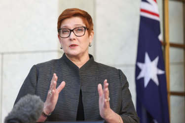 Minister for Foreign Affairs Marise Payne has given the strongest sign yet that the government will lift the ban on flights from India after May 15.