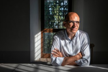 Enrico Letta, a candidate for Parliament, argues that Siena should invest in other industries, particularly health care.