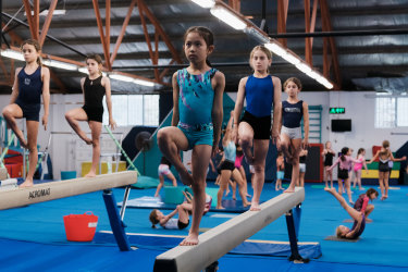 The interests of gymnasts, who are mainly girls, had not been properly considered in the design of the Heffron Centre, according to a community sporting group.