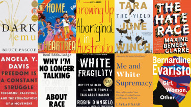 Some of the titles that have attracted increased readership since the Black Lives Matter.