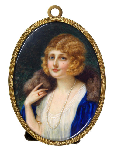 Ada Whiting's  'Miss Jessica Harcourt', an entrant in the 1925 Archibald Prize.