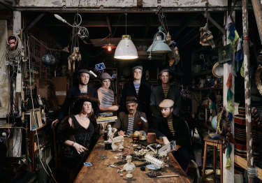 VulgarGrad's latest album features borrowed and beefed-up underworld classics and gypsy folk ballads.