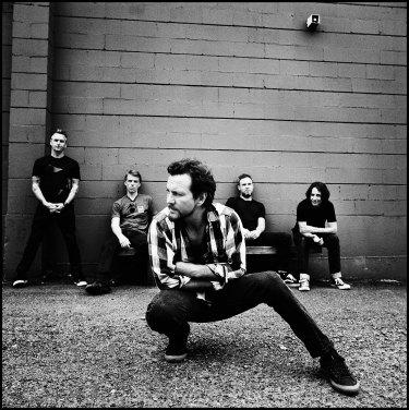 Pearl Jam in 2014.