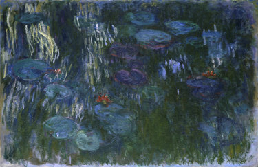 Claude Monet: Water Lilies 1916–19. Oil on canvas.