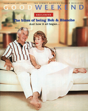 Bob Hawke and Blanche D'Alpuget married in 1995 and bared their feet, and some of their souls, to Good Weekend in 1998.