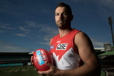 End of the line: Heath Grundy has retired due to a back injury.
