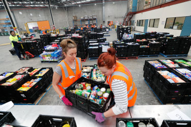 Foodbank is struggling to match increasing demand for food relief during the coronavirus crisis.