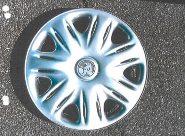 The Holden hubcap Brandon Gray said resembled the one on the car he saw on Stirling Highway the night Ciara Glennon vanished.