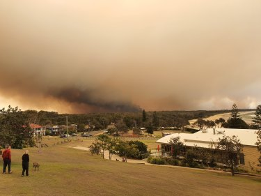 More than 1750 hectares have already been burnt at Port Macquarie.