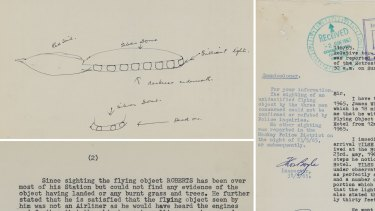 Documents related to the sighting, among many in the newly digitised trove, show Queensland police correspondence stretching back decades across the state.
