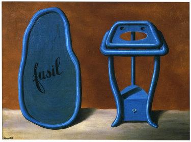 René Magritte, Le Duo (Il duo), 1928.