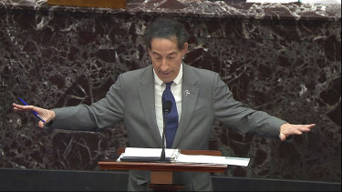 House impeachment manager Jamie Raskin.