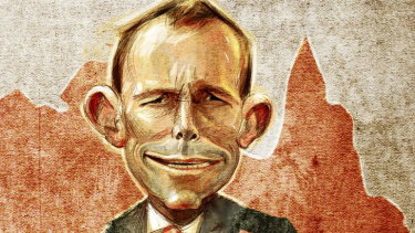It is hypocritical for Tony Abbott to pretend to be disappointed in Turnbull's lack of prime ministerial moral fibre.