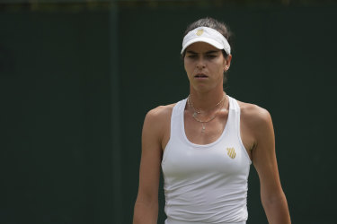 Ajla Tomljanovic's win was marred by controversy.