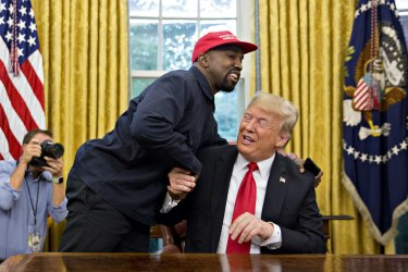 West has been a vocal supporter of  US President Donald Trump.