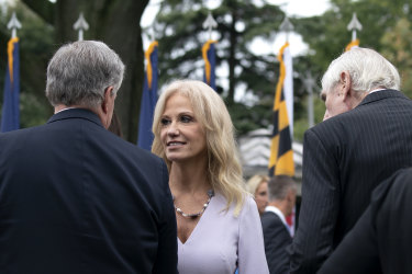 Kellyanne Conway, senior adviser to the US President, has also tested positive to COVID-19.