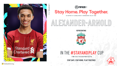 Liverpool's Trent Alexander-Arnold will participate in the 'Stay and Play Cup'.
