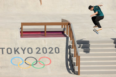 Australia's Shane O'Neill failed to make the final of the skateboarding competition in Tokyo.