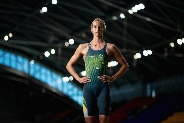 Australian swimmer Emma McKeon.