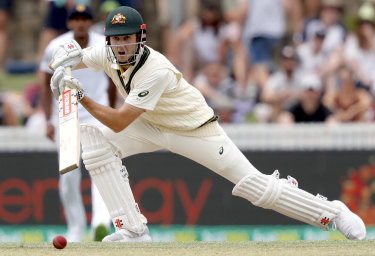 Kurtis Patterson scored a maiden Test century against Sri Lanka in Canberra earlier this month.