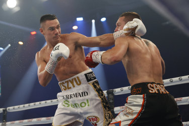 Tim Tszyu is risking a world title shot in his next fight.