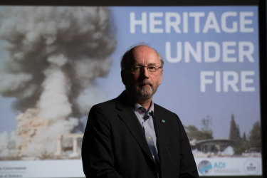 Peter Stone, a British academic who specialises in protecting cultural heritage sites in wars.