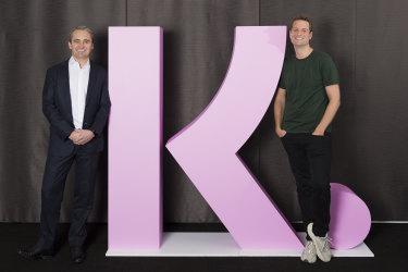 Commonwealth Bank chief executive Matt Comyn and Klarna CEO Sebastian Siemiatkowski have formed a joint venture to take on Afterpay in Australia.