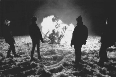 """Mt. Hotham Bi-Centennial Beacon. Was set up on summit of Mt. Hotham in 70km/hr Winds and Chill Factor-25°c. June 19, 1988."""