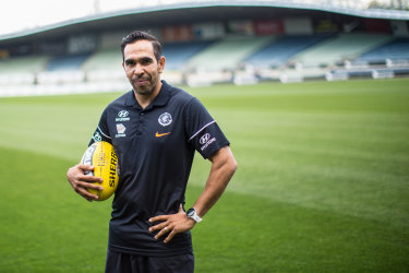 Eddie Betts: Back at the Navy Blues.