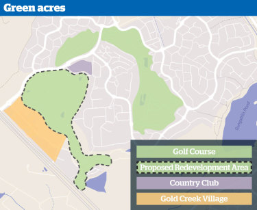 A graphic showing the proposed development.