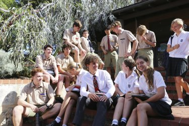 Cross-campus classes with students from Scotch College and PLC.