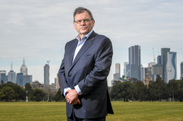 "University of Melbourne Vice-Chancellor Duncan Maskell: ""If that decision stops people dying now from the virus, what are the economic consequences of that for people and how will that play out in terms of future mortality?"""