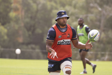 Rob Valetini is hoping to make an impact in his second Super Rugby season.