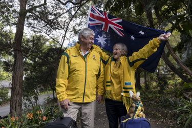 Wallabies fans Ray and Margaret Dearlove are heading to Japan for the Rugby World Cup.