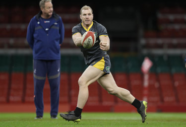 David Pocock is expected to be on a managed playing and training workload next year.