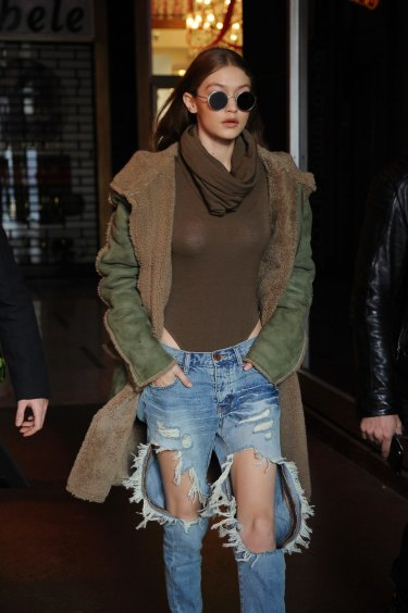 Why the uber-ripped jeans trend is a hole lot of not OK