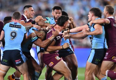 Bring back the biff, says Andrew Johns. For Origin at least.