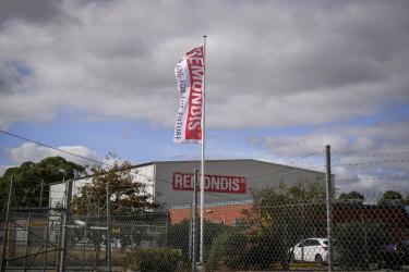 The Remondis plant in Coolaroo.
