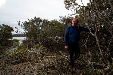 Wally Stewart, a Yuin elder, says the Yuin traditional owners of the South Coast, were not consulted by the government when it stripped marine protections away.