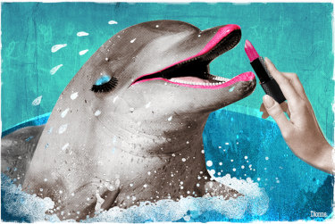 Anti-ageing is out, and dolphin skin is in.