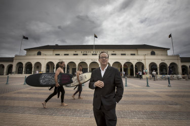 "Waverley mayor John Wakefield said Bondi Pavilion had been ""neglected for too long""."